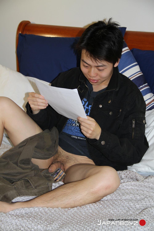 JapanBoyz-Suzuki-Asian-Twink-With-Big-Uncut-Cock-Jerking-Off-Amateur-Gay-Porn-08 Amateur Japanese Twink Suzuki Strokes His Big Uncut Asian Cock