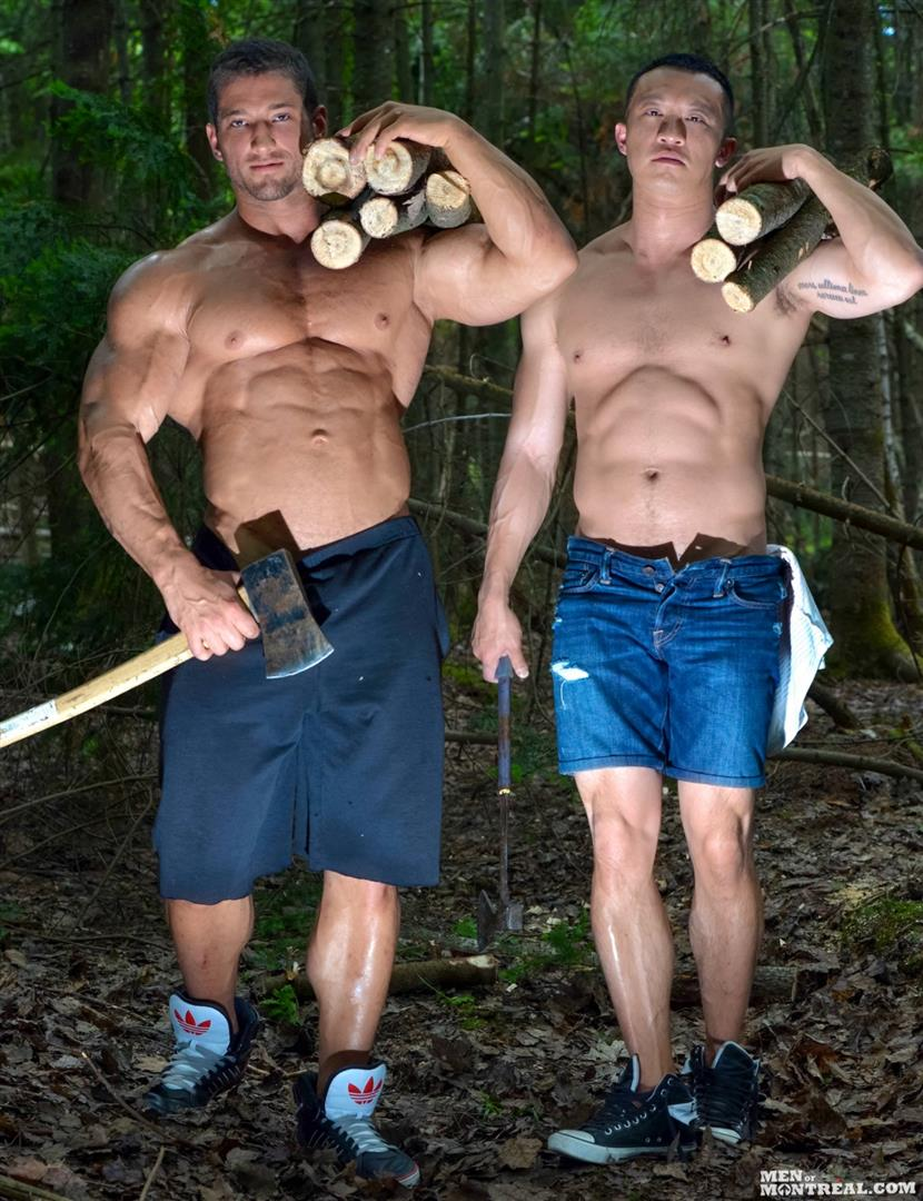 Army gay guys fuck with boy outdoor xxx