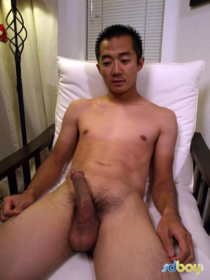 SDBoy-Mitsuo-Navy-Asian-Guy-With-Big-Cock-Jerking-Off-Amateur-Gay-Porn-17 Straight US Navy Officer Jerks His Big Thick Asian Cock