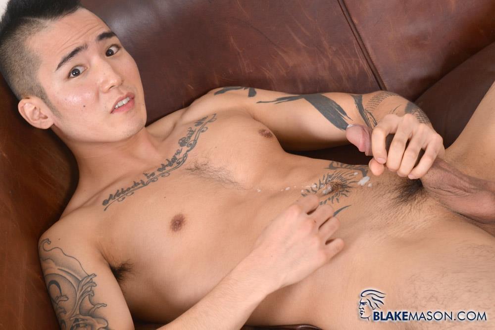 Blake-Mason-Yoshi-Kawasaki-Asian-Twink-Jerking-Off-Amateur-Gay-Porn-18 Japanese Twink Stroking His Big Asian Cock