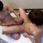 Japanboyz-Huge-Cum-Shot-Japanese-Twinks-21-150x150 Japanese Twinks With Thick Uncut Cocks Share A Fuck and Some Cum